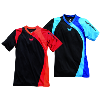 Butterfly banjo shirt table tennis from ransome sporting for Table tennis shirts butterfly