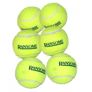 Tennis Balls - Pack of 12 (2x6)