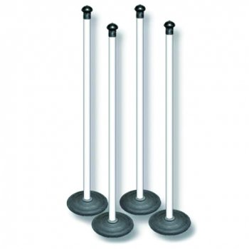 Rounders Posts PVC – Set of 4
