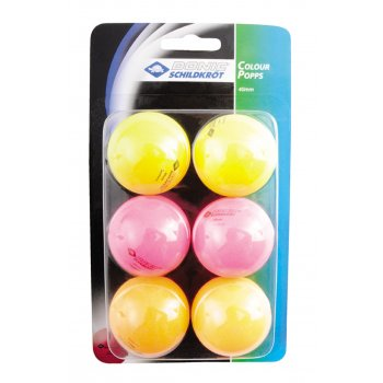 Colour Pops 40mm (Pack of 6)