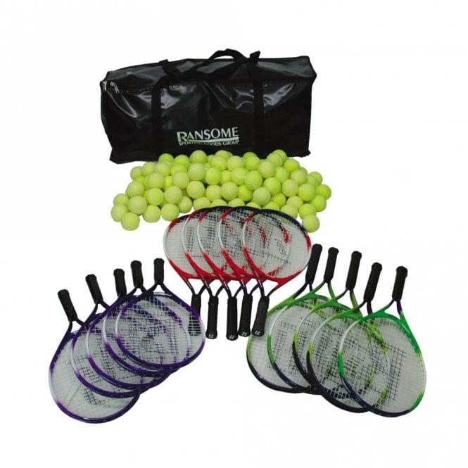 Primary Tennis Racket & Ball Bag