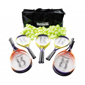Secondary Tennis Racket & Ball Bag
