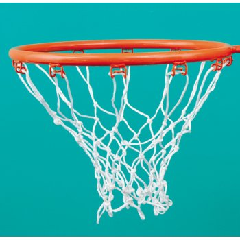 404 Netball White Basketball Nets
