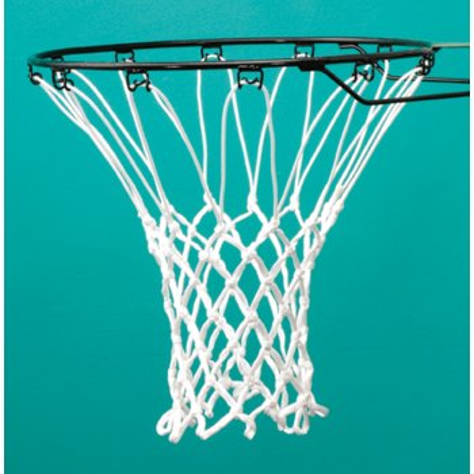 406 Anti-Whip White Basketball Nets