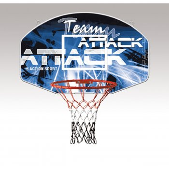 Team Attack Backboard and Ring