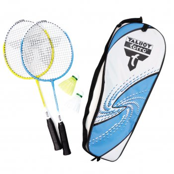 Attacker 2 Player Junior Badminton Set