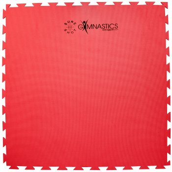 Puzzle Mat - 20mm - Red/Green
