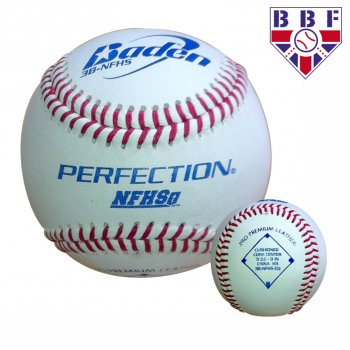 3B-NFHS Leather Match Baseball (Dz) - BBF