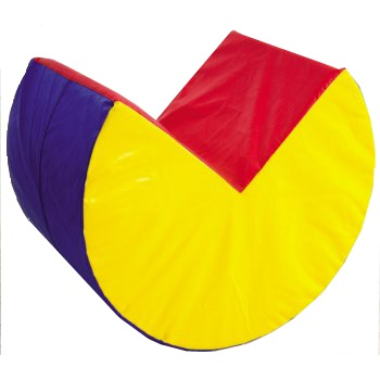 Soft Play Pacman Shape