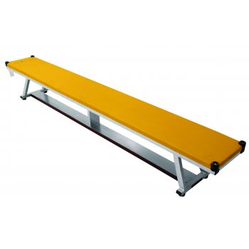 Padded bench-Yellow
