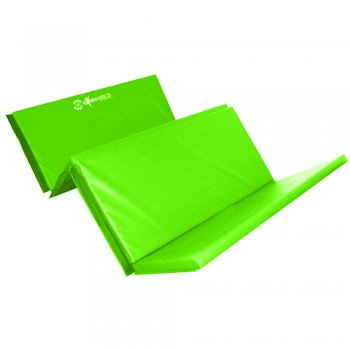 Foldable (4 Fold) Mat - 50mm Lime Green