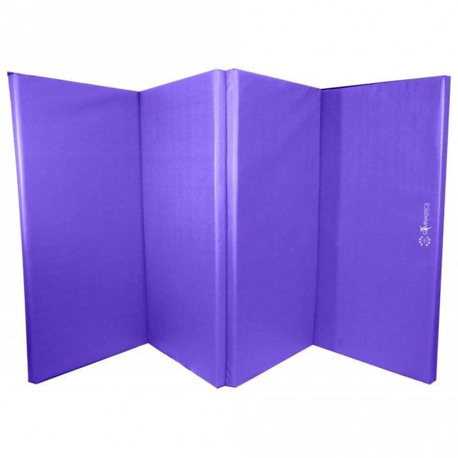 Foldable (4 Fold) Mat - 60mm Purple