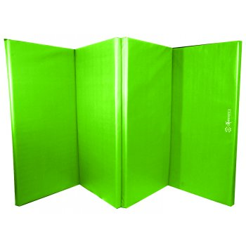 Foldable (4 Fold) Mat - 60mm Lime Green