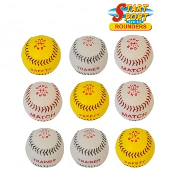 Rounder balls - pack of 9