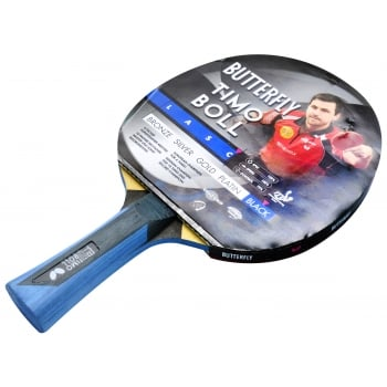 Timo Boll Platinum Black Bat