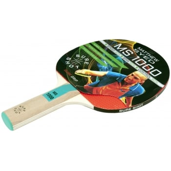8a26112b60f Sure Shot Matthew Syed 1000 Table Tennis Bat - Table Tennis from ...