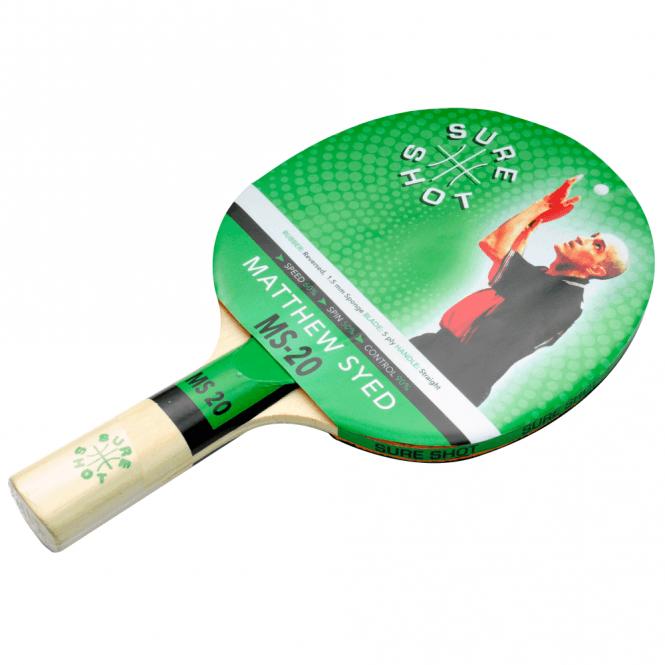 Matthew Syed 20 Table Tennis Bat
