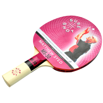 Matthew Syed 30 Table Tennis Bat
