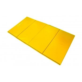 Foldable (4 Fold) Mat 25mm - Mustard