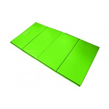 Foldable (4 Fold) Mat 25mm - Lime Green