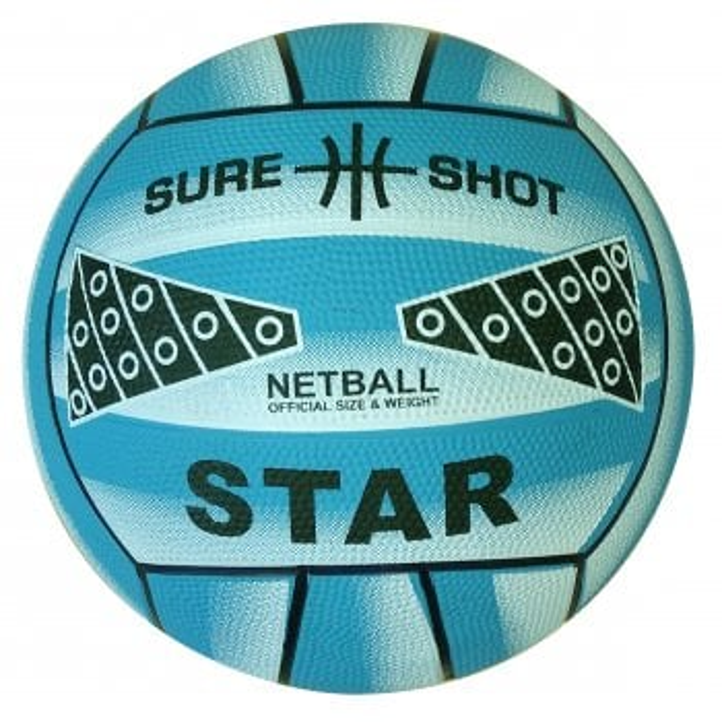 Star Netball (Blue Size 4)