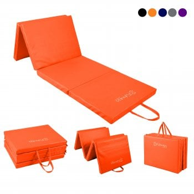 Four-Fold mat 6' x 2' Mat – 40mm Orange