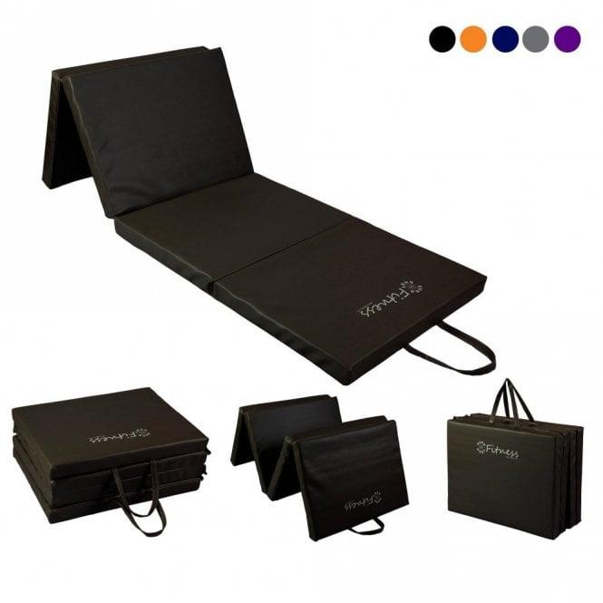Four-Fold mat 6' x 2' Mat – 50mm Black