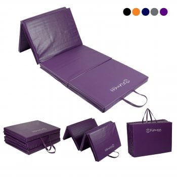 Four-Fold mat 6' x 2' Mat – 50mm Purple