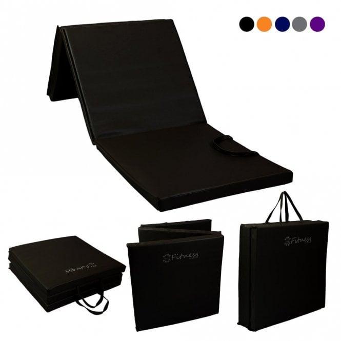 Tri-Fold 6' x 2' Mat – 50mm Black