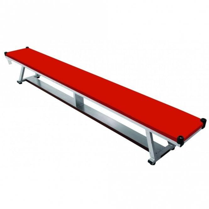 Padded Bench 2.4m Red