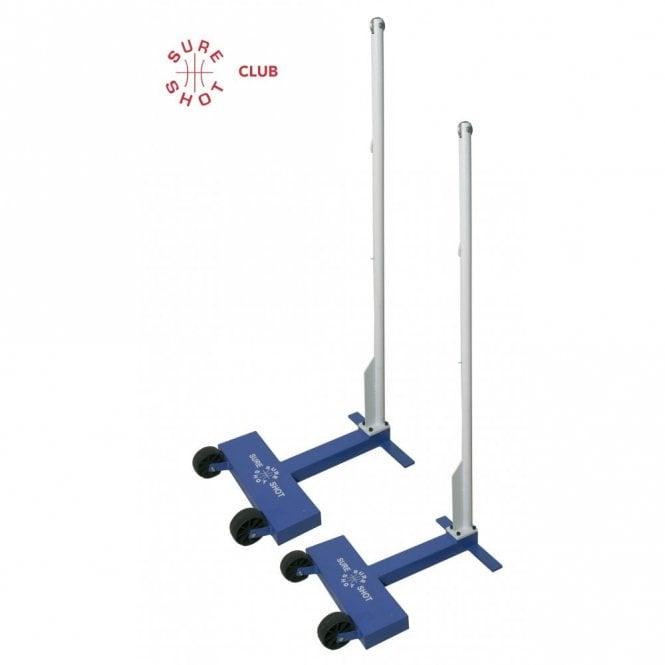 Club Wheelaway 45kg Badminton Posts