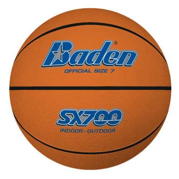 SX700/600/500/300 Tan Rubber Basketballs