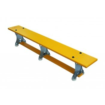 Light Weight Bench Yellow