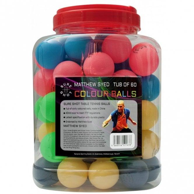 Matthew Syed Barrel of 60 coloured balls