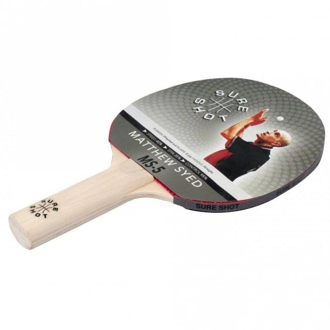 Matthew Syed 5 Table Tennis Bat