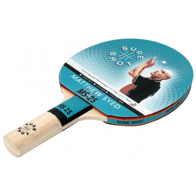 Matthew Syed 25 Table Tennis Bat