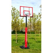 Sure Shot 510ACRP U Just Portable Acrylic Basketball Unit (with Padding)