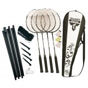 Talbot Torro Fighter 4 Player Badminton Set