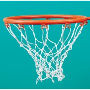 Sure Shot 404 Netball White Basketball Nets