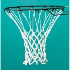 Sure Shot 406 Anti-Whip White Basketball Nets