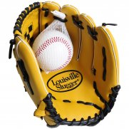 Louisville Slugger Adult Baseball Glove and Ball Set