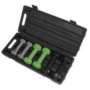 960010 Set of Vinyl Dumbbells
