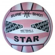 Sure Shot Star Netball (Pink Size 4)