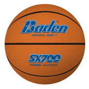 Baden SX700/600/500/300 Tan Rubber Basketballs