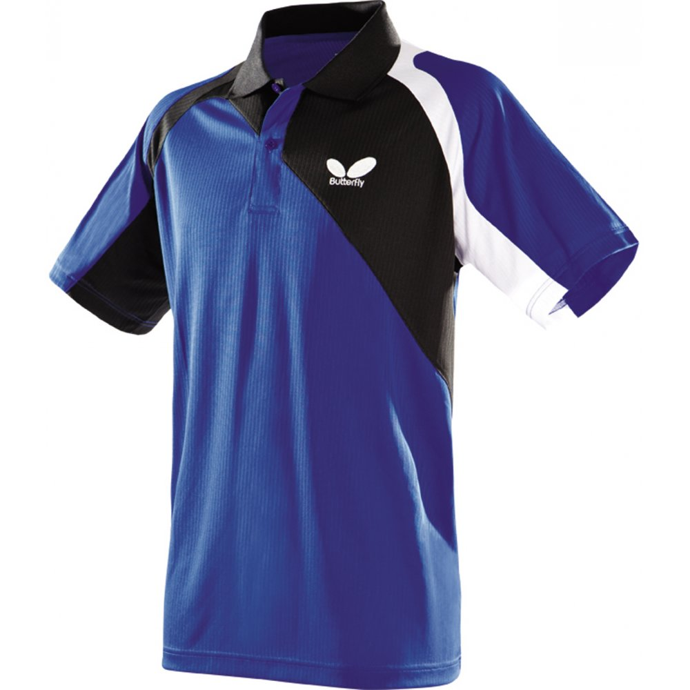 Butterfly passo shirt table tennis from ransome sporting for Table tennis shirts butterfly
