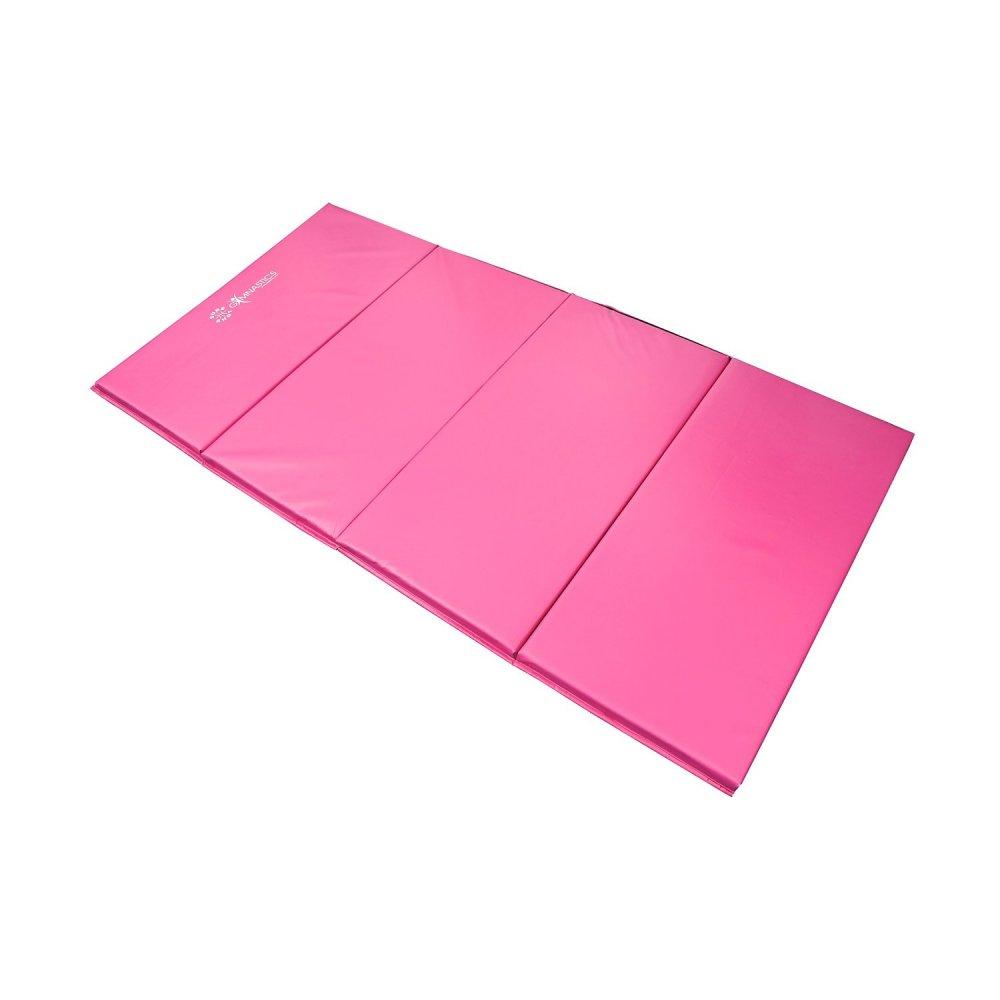 Sure Shot Foldable 4 Fold Mat 60mm Pink Gymnastics